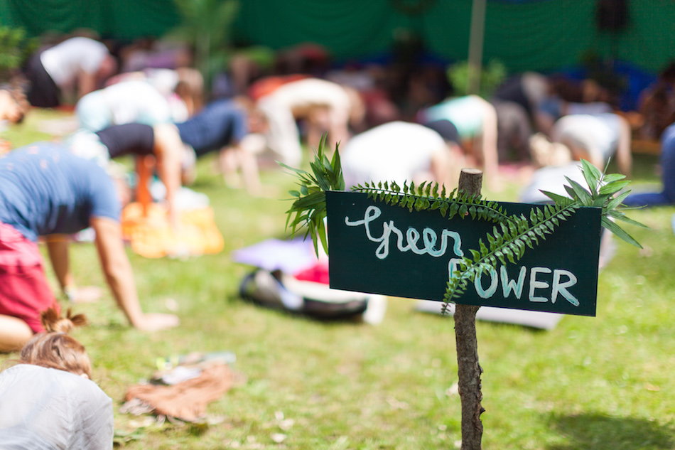 green power at natural high festival
