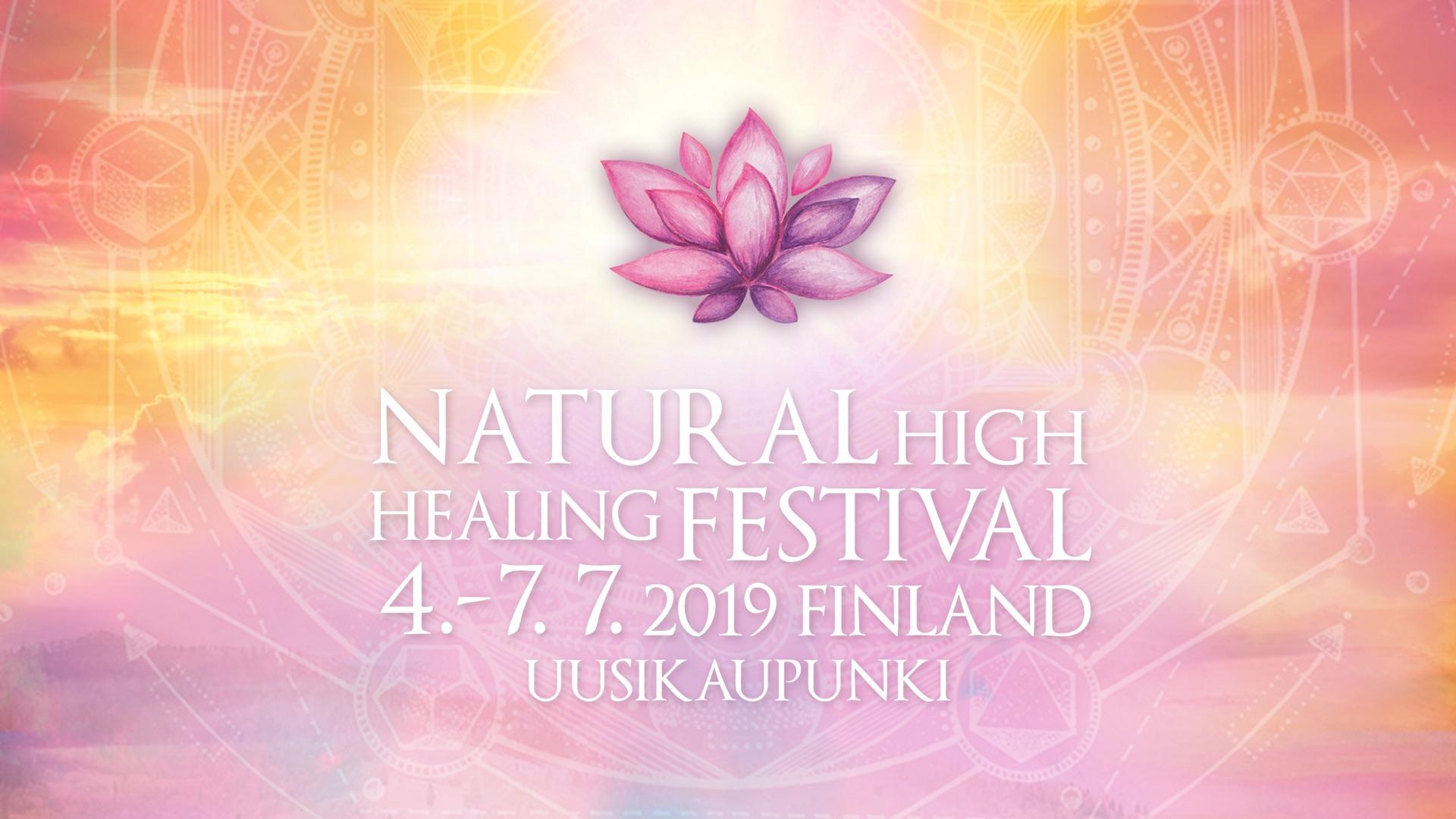 Natural High Healing Festival Finland 2019