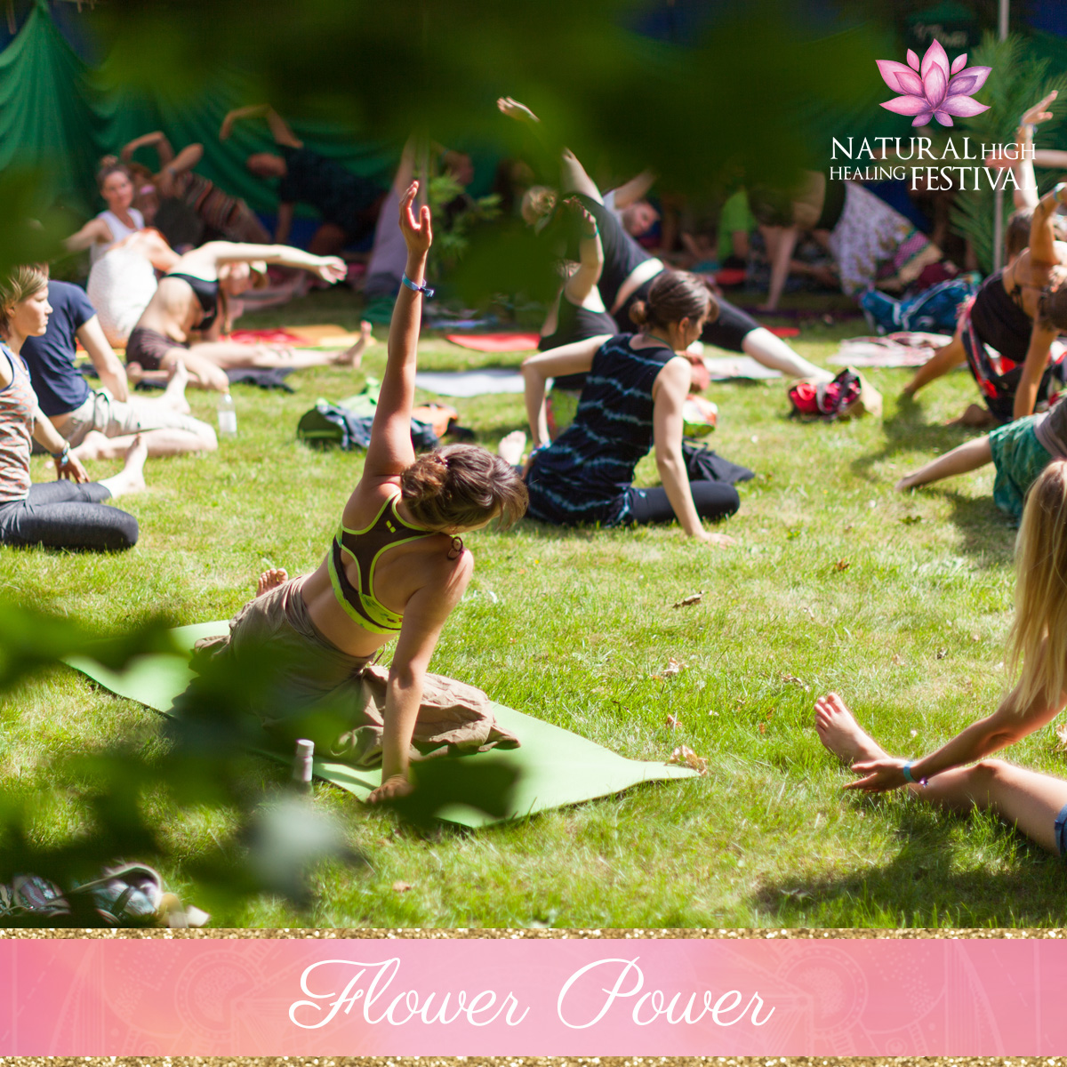 green power at natural high festival
