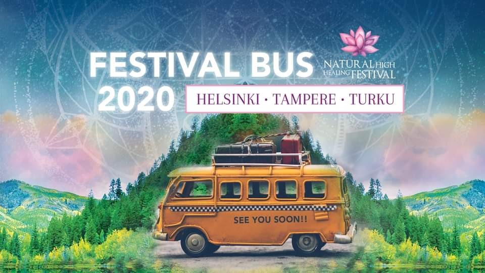 Natural High Festival bussi