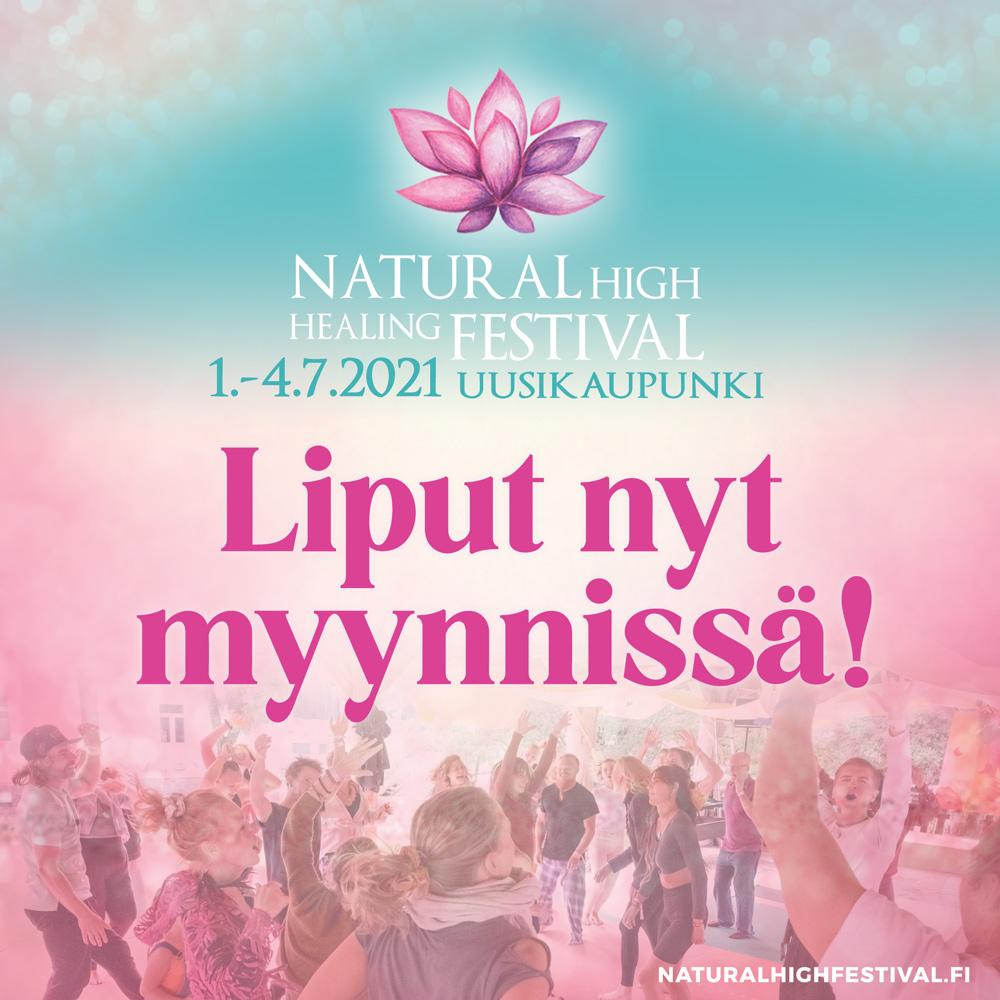 Natural High Festival liput nyt myynnissä!